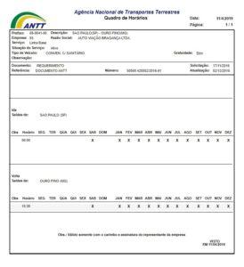 Consulta ANTT da Bragança 274x300 - Ouro Fino como chegar? Opções de empresas de ônibus que realizam o trajeto