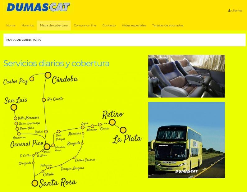 Dumas Cat - Ônibus para Argentina – Excelência no atendimento ao passageiro