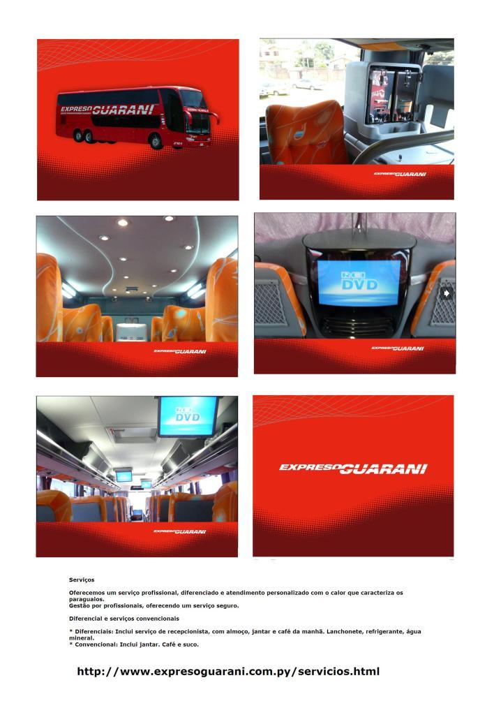 EXPRESSO GUARANI 708x1024 - Ônibus do Brasil para Paraguai – Saiba mais sobre esta ligação rodoviária internacional