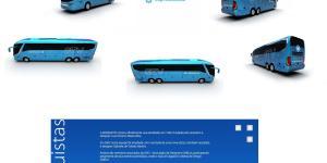 Premiações 3 - Pinturas dos ônibus – O que há de mais moderno e chamativo em design de frota