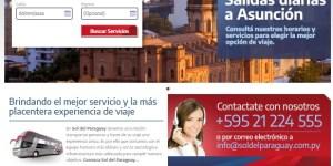 Sol del Paraguay Site 2019 - Ônibus do Brasil para Paraguai – Saiba mais sobre esta ligação rodoviária internacional