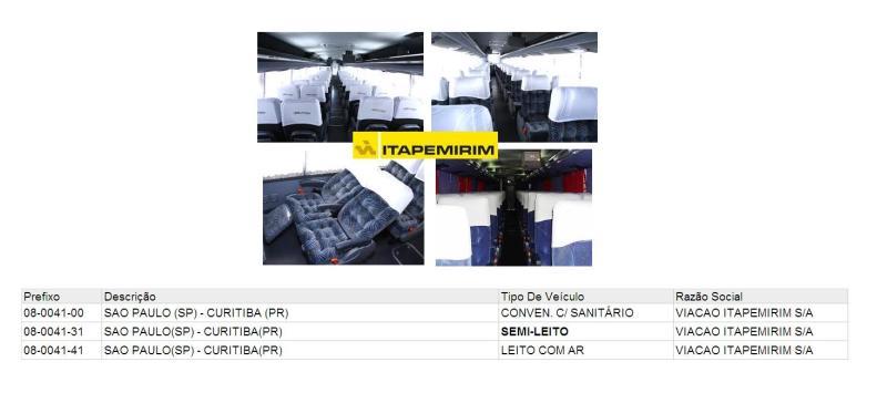 Viação Itapemirim 2011 - Serviço Semi Leito – Conceitos sobre esta categoria de transporte rodoviário