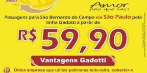 Auto Viação Gadotti - Concorrência rodoviária São Paulo – Santa Catarina