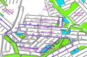 Setor Laranjeiras Casa Branca Santa Paula II 300x198 - Regiões populosas de Sorocaba – Linhas de ônibus urbanas predominantes