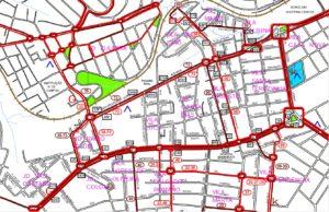 Corredor Avenidas Afonso Vergueiro e General Carneiro 300x194 - Região Oeste de Sorocaba – Linhas de ônibus urbanas predominantes