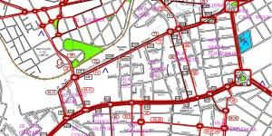 Corredor Avenidas Afonso Vergueiro e General Carneiro - Região Oeste de Sorocaba – Linhas de ônibus urbanas predominantes