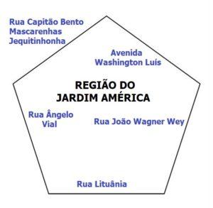 Pentágono do Jardim América 1 300x293 - Região Sul de Sorocaba – Linhas de ônibus urbanas predominantes