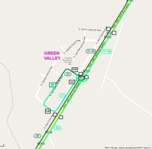 Setor Green Valley 300x294 - Região Sul de Sorocaba – Linhas de ônibus urbanas predominantes