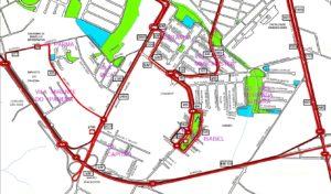 Setor Jardim Capitão Jardim Santa Izabel 300x176 - Região Oeste de Sorocaba – Linhas de ônibus urbanas predominantes