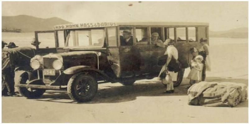 Auto Viacao Catarinense - História transporte rodoviário – Nostalgia e primeiras dificuldades nas viagens rodoviárias