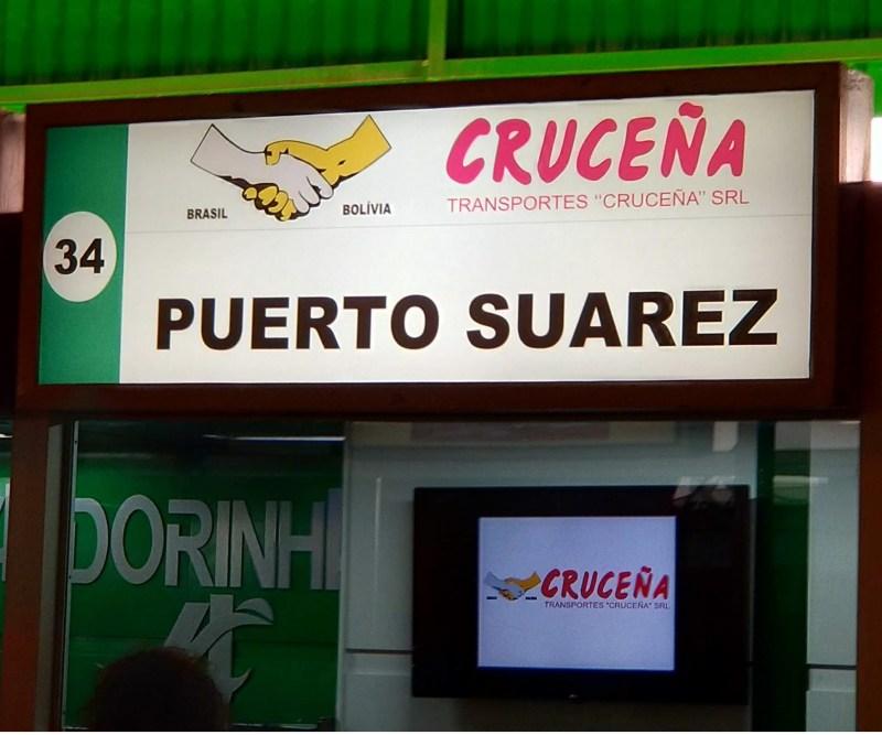 Guiche Crucena Barra Funda - Ônibus do Brasil para Bolívia – Uma viagem diferente por ônibus