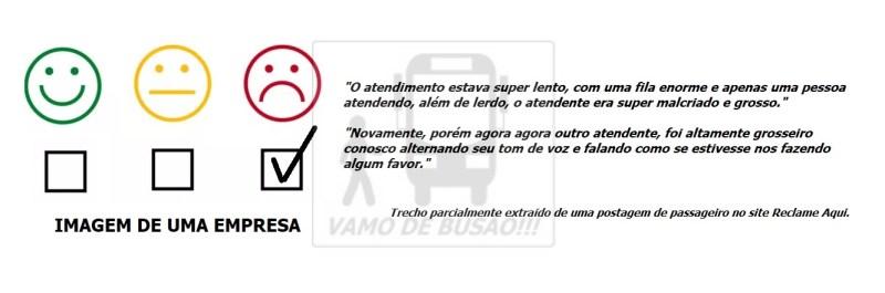 IMAGEM DOS FUNCIONÁRIOS PERANTE PASSAGEIROS - Reclamações de empresas ônibus – As 8 piores falhas cometidas