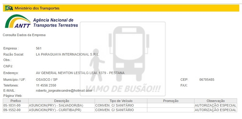 LA PARAGUAYA - Ônibus do Brasil para Paraguai – Saiba mais sobre esta ligação rodoviária internacional