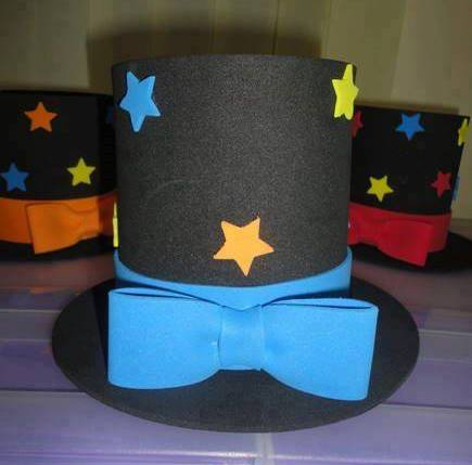 Creativos y Divertidos Sombreros para Fiesta en Goma Eva
