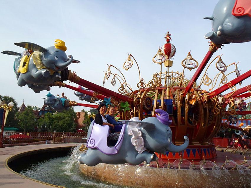 Atracciones Cerradas por Reacondicionamiento en Disneyland