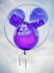 Cosas gratis en Disneyland - Globo de Reemplazo