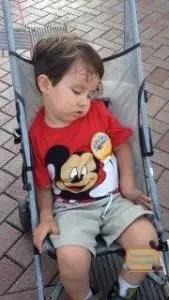 Viajar a Disney con niños pequeños