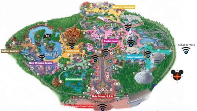 Wifi en Disneyland
