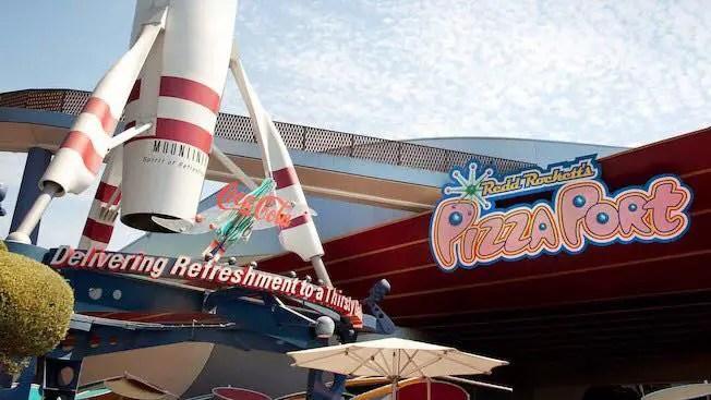 Pizza Port Disneyland