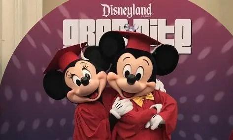 Grad Nite en Disneyland California