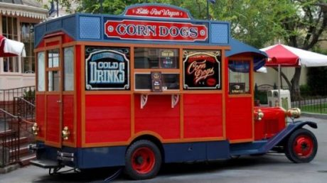 Red Wagon Disneyland