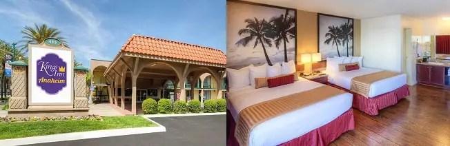 Hoteles Baratos en Anaheim Kings Inn