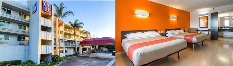 Motel 6 Hoteles Baratos en Anaheim