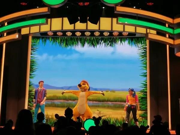 Disney Junior Dance Party niños pequeños Disney California Adventure
