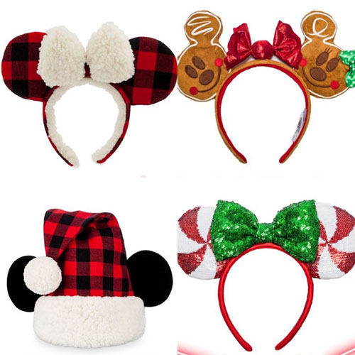 orejas de mickey mouse navidad