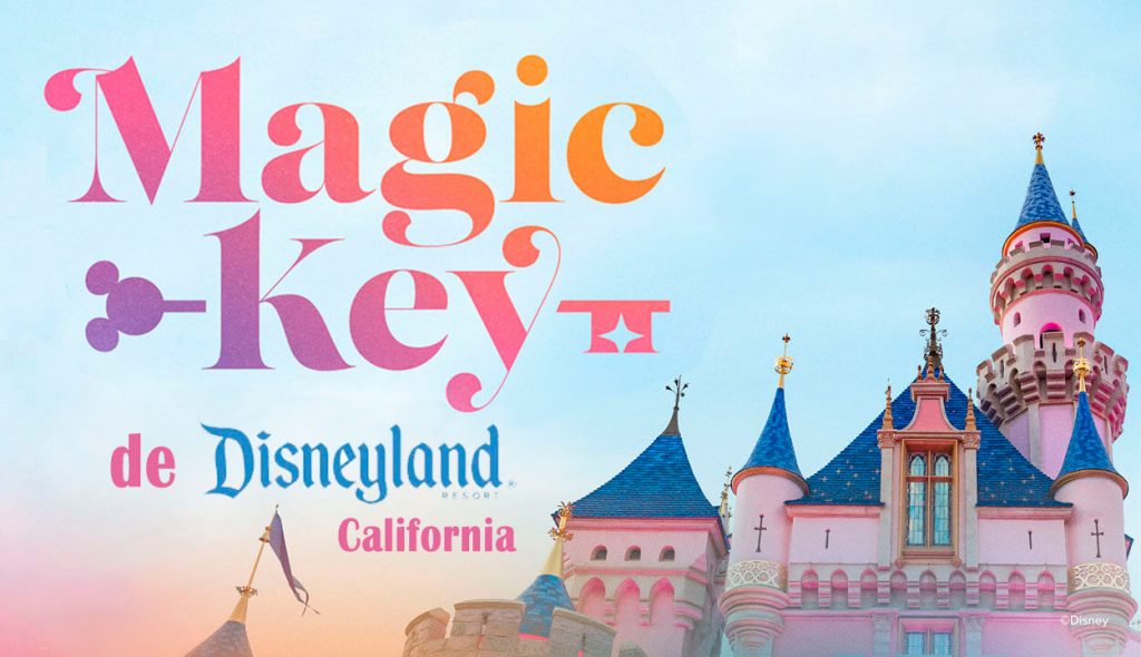 Nuevo Pase Anual Magic Key de Disneyland