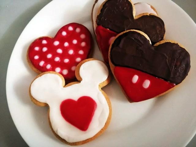 Galletas Disney Para San Valentín