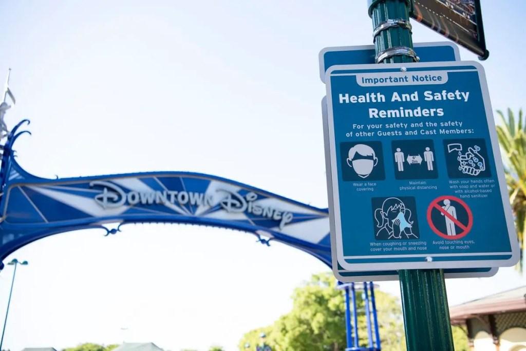 Restricciones vigentes en Disneyland