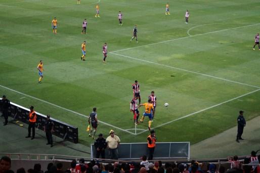 """Die """"Chivas"""" spielen zuhause immer in Rot-Weiß"""