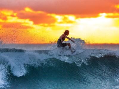¡A pillar olas!