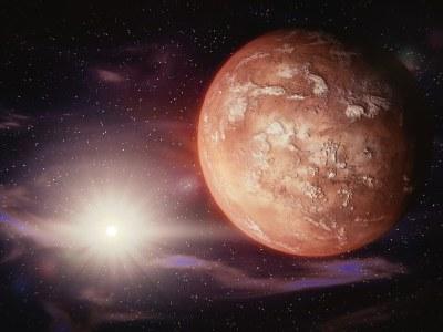 Vida en Marte.