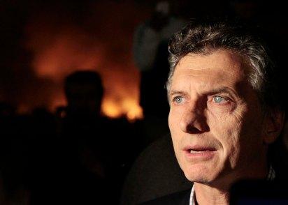 Télam Buenos Aires 31-07-13 El jefe de Gobierno de la Ciudad de Buenos Aires, Mauricio Macri, Estuvo hoy observando de cerca las tareas que se realizaron para sofocar el incendio que se desató en la Reserva Ecológica. Foto: Nahuel Padrevecchi/GCBA/Télam/cf