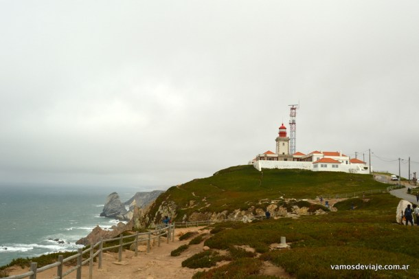 El faro de Cabo da Roca.