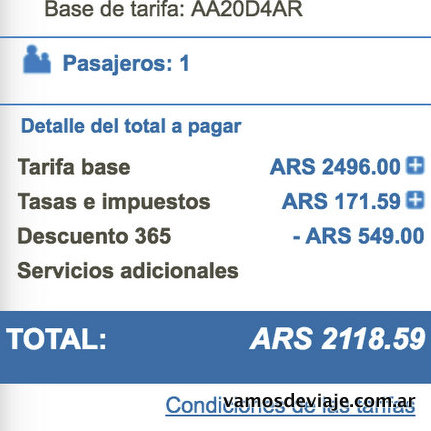 Aerolineas Argentinas 365 Clarin-001