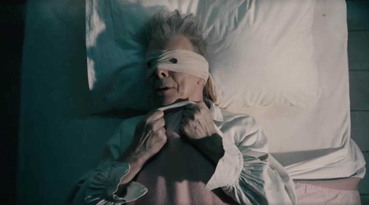 Video scene launched by Bowie days before his death, on the end of life and pains caused by cancer