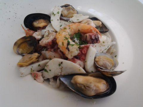 Capri - salada de frutos do mar