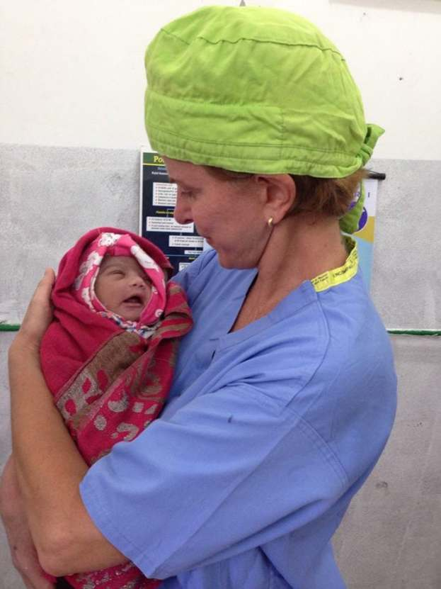 Trabalho voluntário no Nepal
