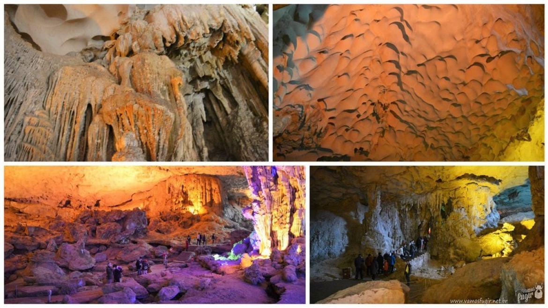 surprise cave Halong Bay