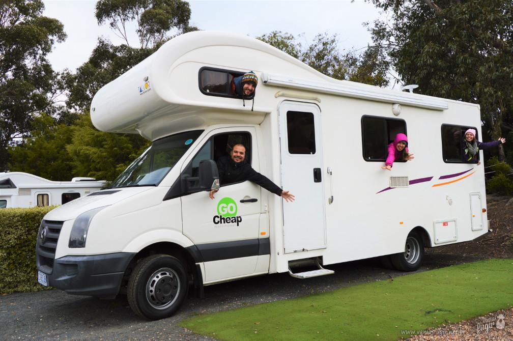 viagem de Motorhome pela Austrália