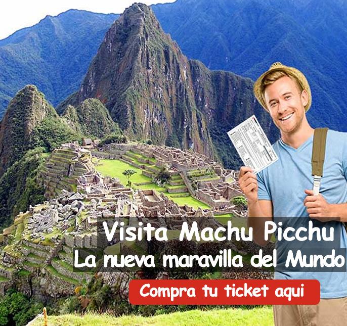 Boleto Machu Picchu