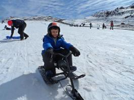 Farellones no Chile - Neve