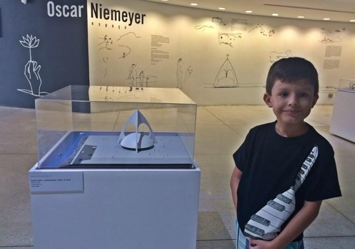 Museu Oscar Niemeyer - passeios para dias de chuva em Curitiba