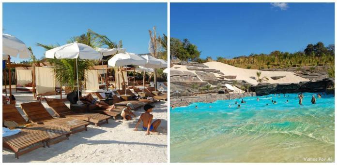 Praia do Cerrado no Hot Park