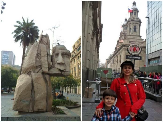 centro de Santiago do Chile