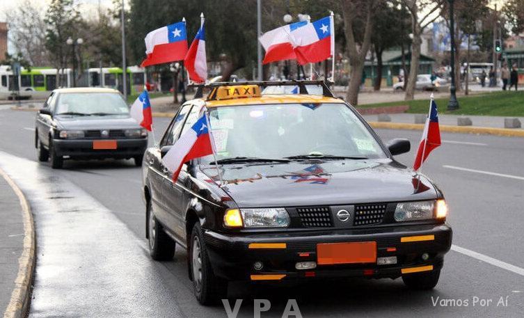 Caímos no Golpe de Taxistas em Santiago