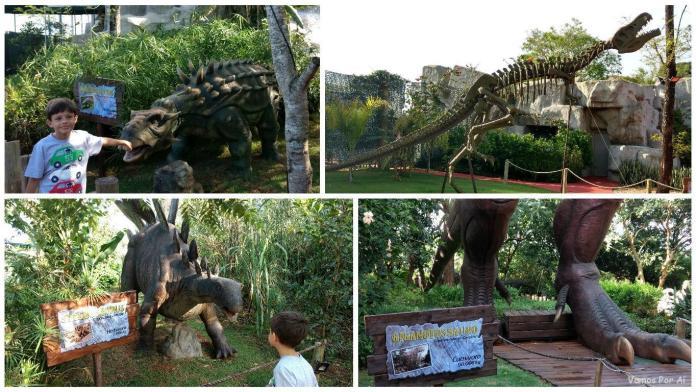 ingresso para o Vale dos Dinossauros, Foz do Iguaçu